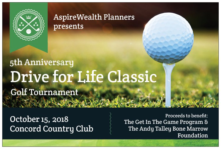 5th Anniversary Drive for Life Classic Golf Tournament